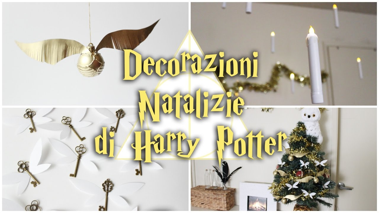 Decorazioni natalizie di harry potter boccino d 39 oro for Youtube decorazioni natalizie