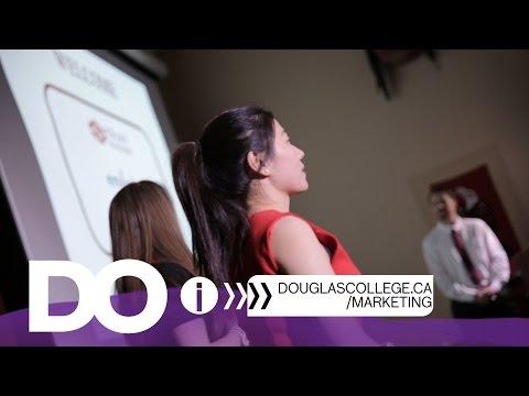 What is the Douglas College Marketing program like?