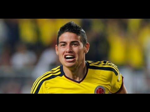 James Rodriguez - All 6 Goals In world cup 2014 Brazil