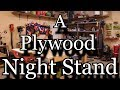 Make A Plywood Night Stand