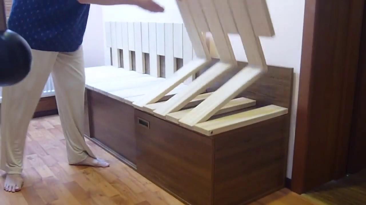 Лавка-кровать трансформер для кухни - youtube.