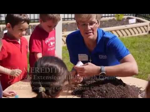 """""""Kindergardening"""" with Primrose School in South Tampa"""