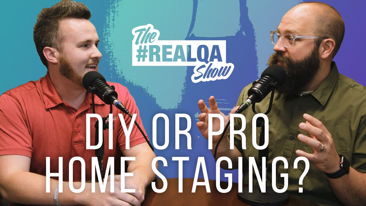 DIY or PRO Home Staging? and other happen'n real estate questions!