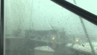Intense August 2 storm in Traverse City Marina