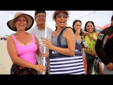 Osiptel Campaña de orientación en las playas de Lima