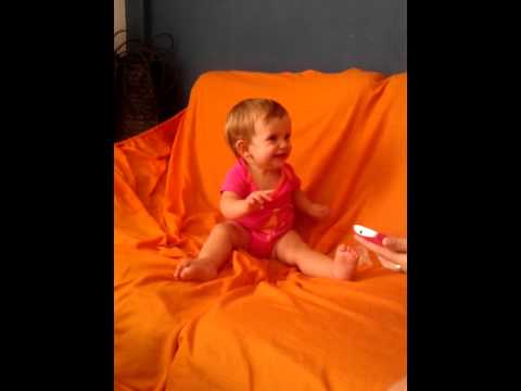 Nerea baila chiquilla