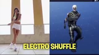 Fortnite Dances in REAL LIFE - Fortnite FR