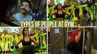 Types of People in Gym | AASHIV MIDHA