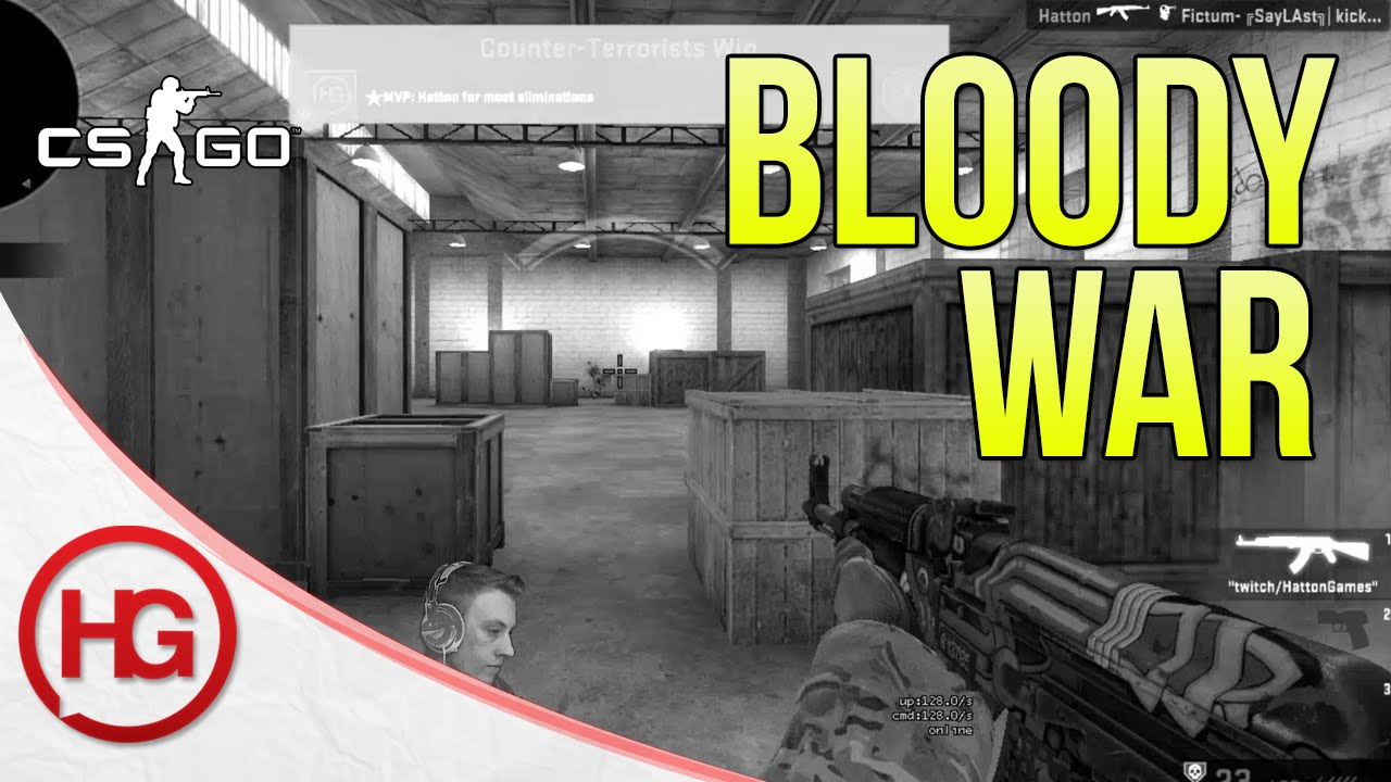 Bloody War (CS:GO 1v1 Competitive Arena #4)