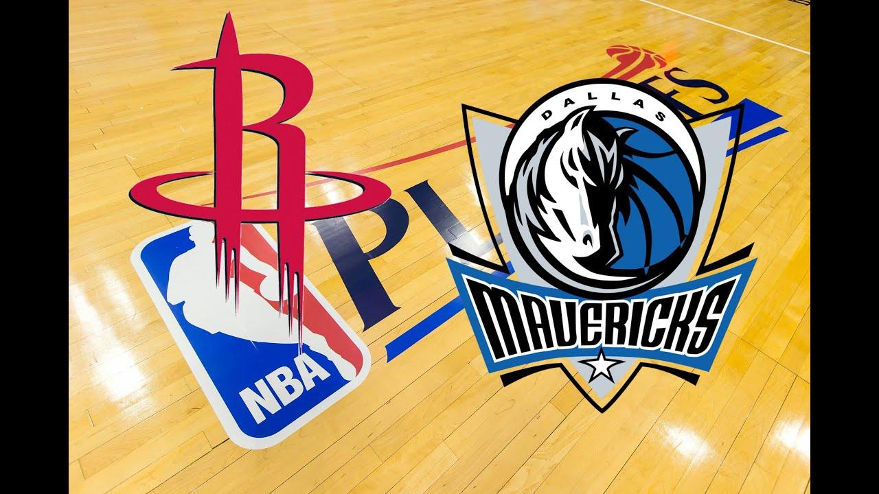 NBA 2K15 - 2015 NBA Playoffs Preview: (2) Houston Rockets vs. (7) Dallas Mavericks - YouTube