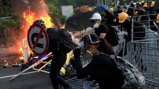 香港风云(2019年10月1日) 荃湾开实弹 解放军倍增 港人不庆十一悼国殇