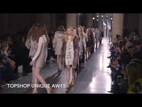 Topshop Unique AW15 At London Fashion Week