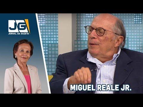 Maria Lydia entrevista Miguel Reale Jr, jurista, sobre o julgamento do habeas corpus de Lula no STF