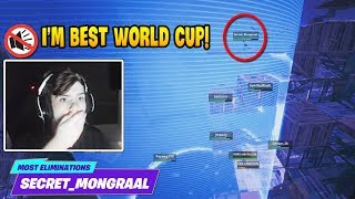 Mongraal Gets *Most Eliminations* in Fortnite World Cup | Fortnite Relax