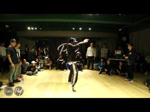 Pluf vol 1 Hip Hop 1 on 1 - Final - 孫楠 vs Cathy