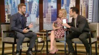 """""""The Bachelor"""" Nick Viall Gets Dating Advice From Kelly & Mark Consuelos"""
