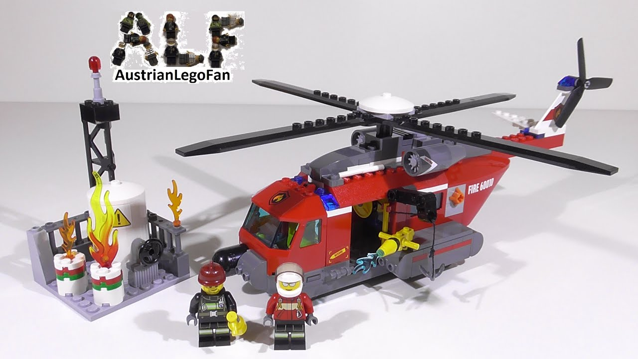 lego city fire helicopter 60010 instructions