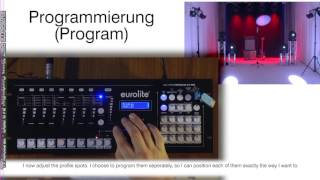 EUROLITE DMX Move Controller 512 PRO / Tutorial