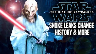 Snoke Leaks Change History! The Rise Of Skywalker (Star Wars Episode 9)