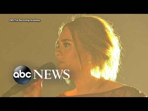 Grammys 2016: Adele Overcomes Technical Difficulties