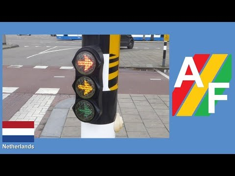 Vialis LED small Bicycle Traffic Light turn right