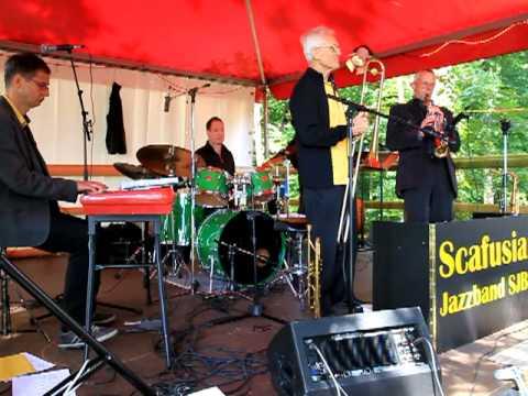 Scafusia Jazzband live im Waldheim Büsingen
