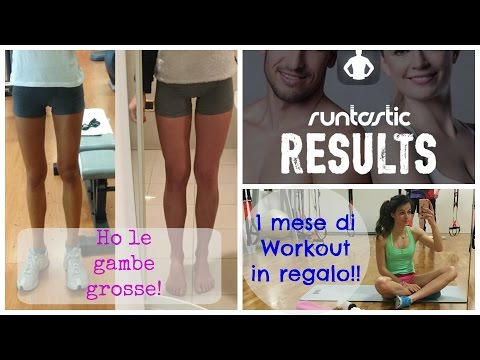 WORKOUT DI RUNTASTIC IN REGALO || HO LE GAMBE GROSSE.