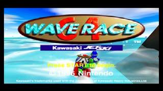 Nintendo 64 Longplay [043] Waverace 64