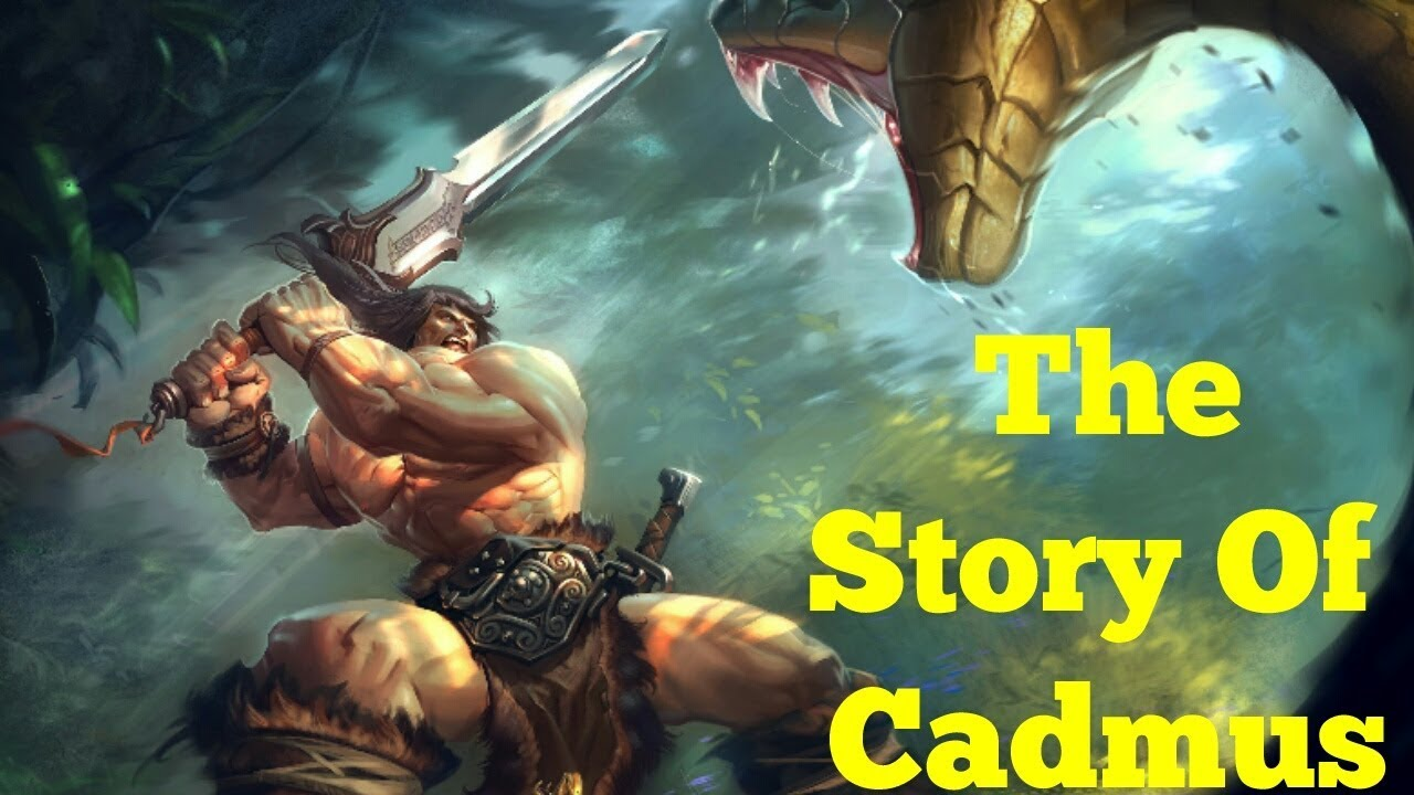 Cadmus Greek Mythology
