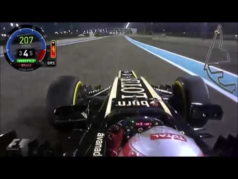 F1 Romain Grosjean Onboard 2009   2016