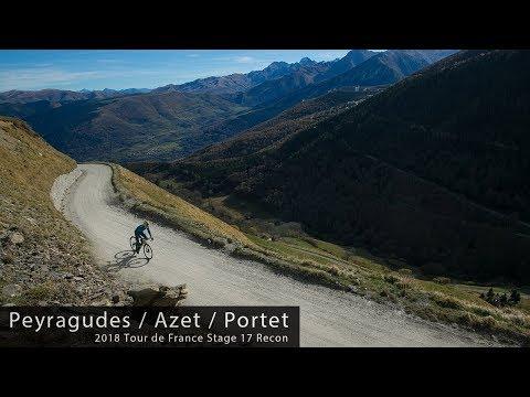 2018 Tour de France - Stage 17 Reconnaissance - Peyragudes / Col de Val Louron-Azet / Col de Portet