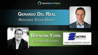 RSD Interview: Electric Royalties (TSX-V: ELEC) CEO Brendan Yurik - May 27, 2021