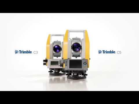 Trimble C3 & C5 mechanische Total Stations