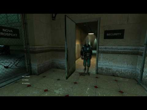 Half Life 2 opening scene, first 5 minutes - in Full HD