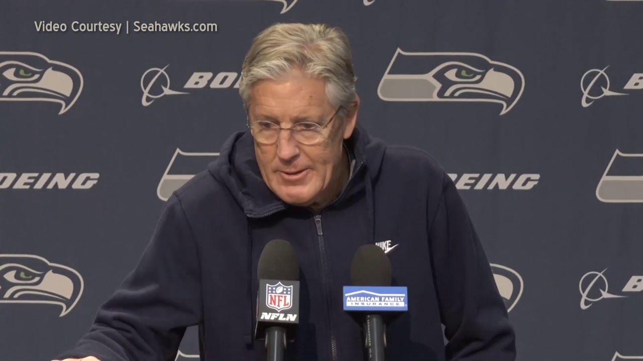 Pete Carroll on Traveling Well 2020-01-09