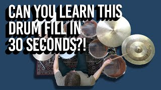 Quick fill #3 | DRUM LESSON by Jon Foster
