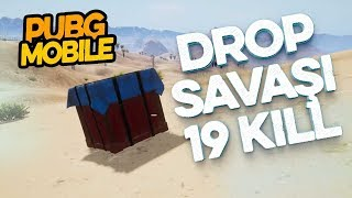 Pubg Mobile Drop Savaşı Yeni Kill Rekorum 19 Kill