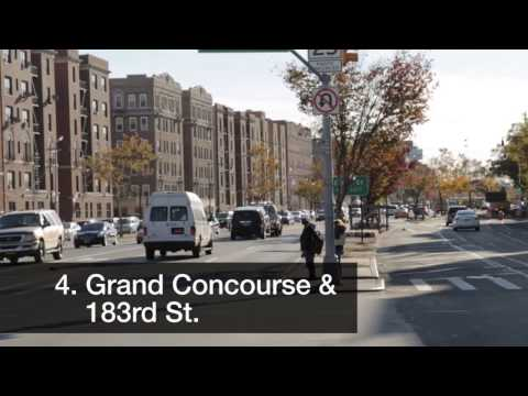 #4 - Grand Concourse & 183rd - Most Dangerous Street Corners in the Bronx