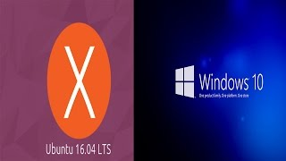 Dual Boot UBUNTU 16.04 LTS & Windows 10 :UEFI