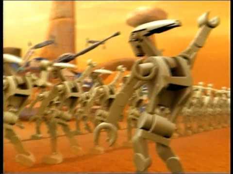 LEGO Star Wars Clone Wars Figure Master Yoda  dancing Battle