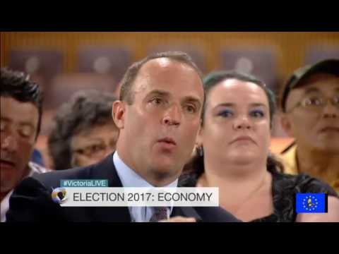 GE2017: Dominic Raab caught in a lie over the reasons why the poor use food banks
