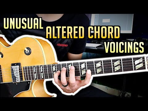 Awesome Altered Chord Voicings - Jazz Guitar