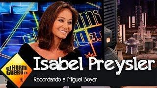 """Isabel Preysler en El Hormiguero 3.0: """"Miguel ha sido la historia de amor más importante para mi"""""""