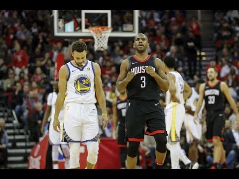 Golden State Warriors vs Houston Rockets in Game 5 of the NBA Playoffs