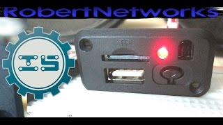 ICStation Mini 5v MP3+WAV Decoder Module  Amplifier & Remote Controller Review - RobertNetworks