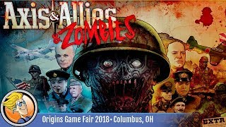 Axis & Allies & Zombies — game preview at Origins 2018