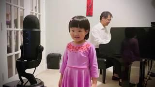 Can You Feel the Love Tonight cover Wenya Hu 4.5 yo