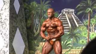 Milton Holloway Jr - Competitor No 22 - Prejudging - IFBB Class 212 - Dallas Europa 2014