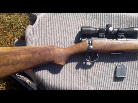 Brno model 1 rifle, cz 452 ancestor - YouTube