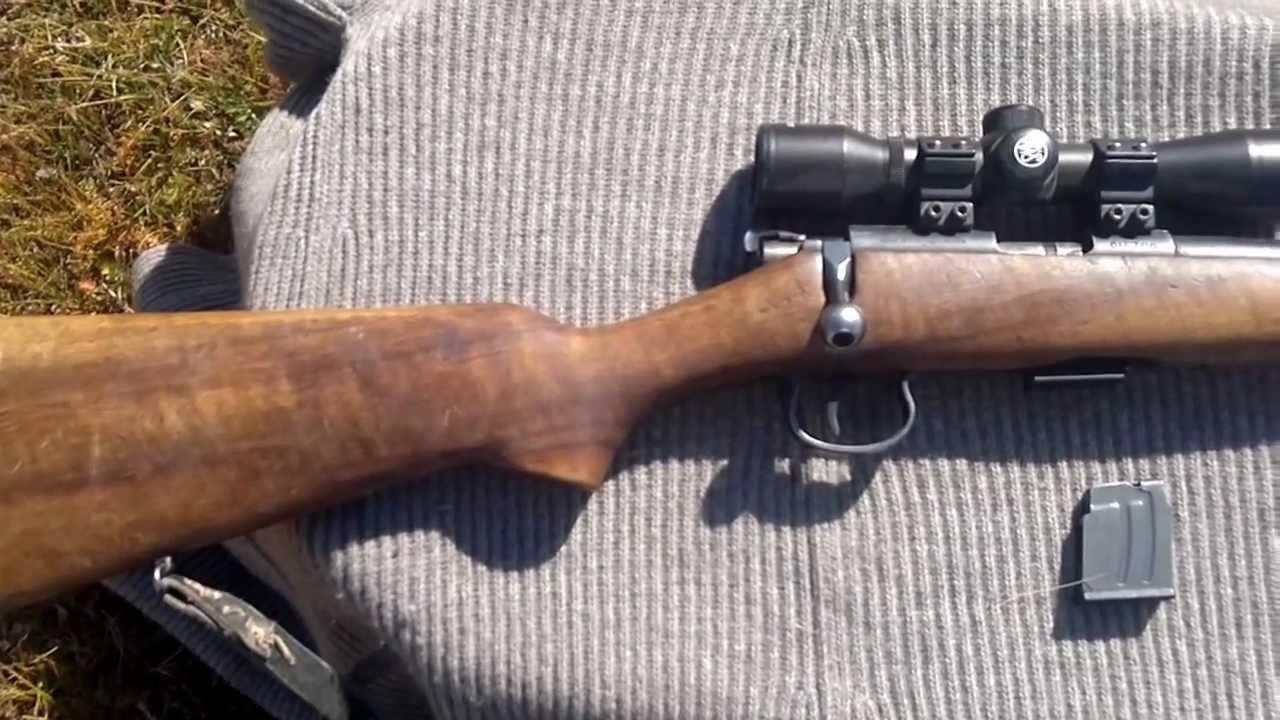 Brno model 1 rifle, cz 452 ancestor